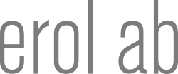 Erol AB - Logotype